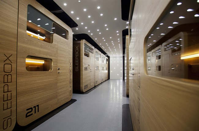Sleepbox Hotel Moscow