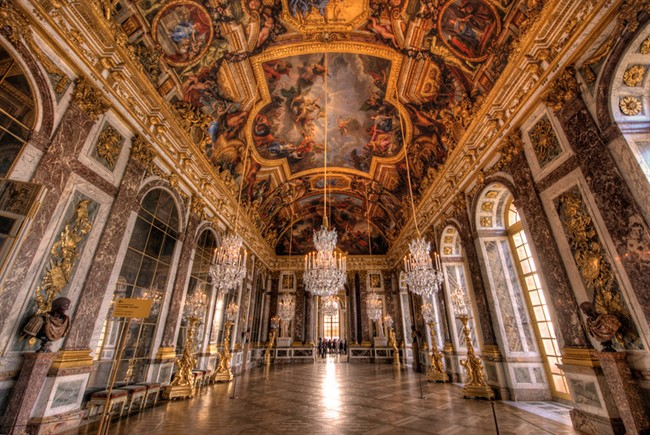 Versailles Hall Mirrors Hdr Bricker L