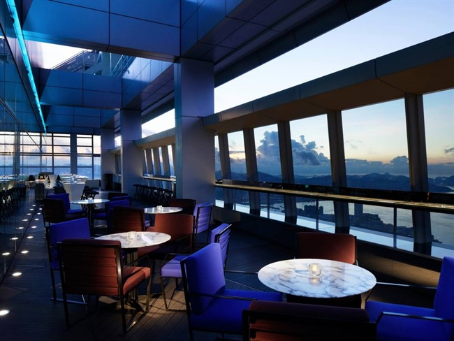 The Ritz Carlton In Hong Kong Is Home To Ozone The Worlds Highest Bar Which Sits On The 118Th Flor Of The Hotel 490 Meters Above Sea Level While Drinks Up Here Will Be Pricey You